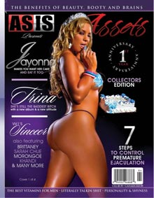 Pic of the Day: Jayonna Fabro on cover of Assets