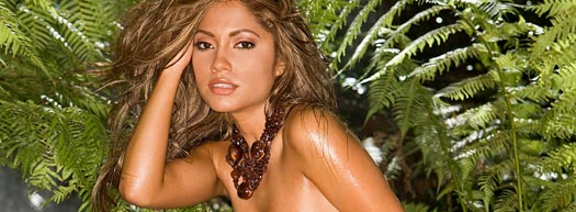 Jessica Burciaga in Playboy: Where's this Jungle???