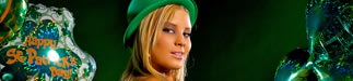 Jayonna Fabro: Luck of the Irish…Happy St. Patrick's Day – courtesy of Del Anthony