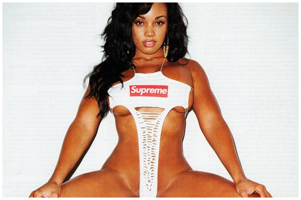 Preview Pics of Vanessa Veasley Supreme Shoot with Terry Richardson