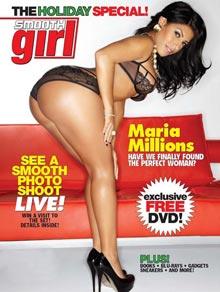Pic of the Day: Maria Millions in next issue of Smooth