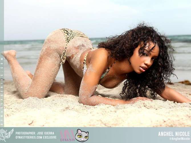 Anghel Nicole: Sand Angel – courtesy of Jose Guerra and The Minx Dynasty