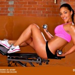 More Pics of Crystal Lee: Work It Out - courtesy of Del Anthony