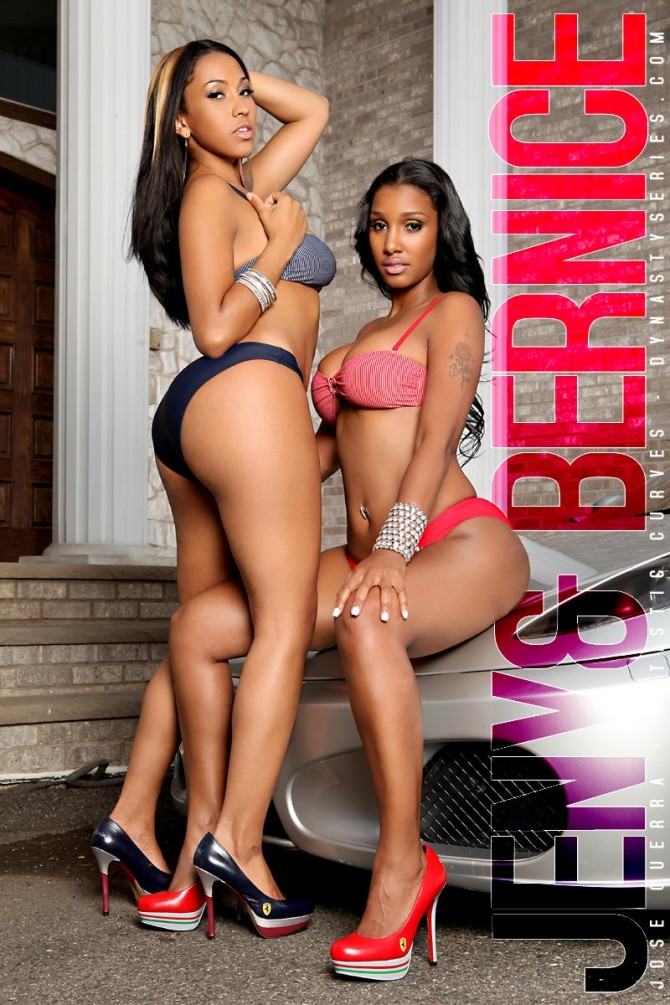 DynastySeries TV: Jeny Romero and Bernice Burgos – courtesy of Jose Guerra and Artistic Curves