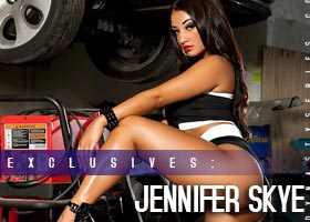 Jennifer Skye: Four Car Garage- courtesy of Frank D Photo