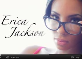 New Behind the Scenes Video of Erica Jackson