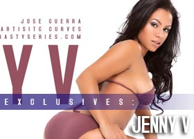 Introducing…Jenny V – courtesy of Jose Guerra and Artistic Curves