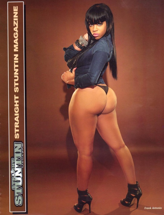 Feeva D in the latest issue of Straight Stuntin