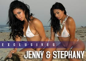 Stephany Romero and Jenny V: Double Trouble – courtesy of Yohance DeLoatch