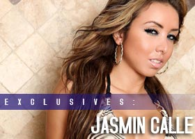 More Pics of Jasmin Calle: Miami Tiles – courtesy of Jose Guerra and Wet Couture Swimwear