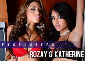 Rozay and Kathyleen Lata @kathyleenlata: Double Up &#8211; MJ Flix &#8211; #MJTL