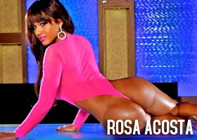 Rosa Acosta @RosaAcosta x Del Anthony Photoshoot