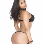 MaliahMichelSHOWBlackLingerie5