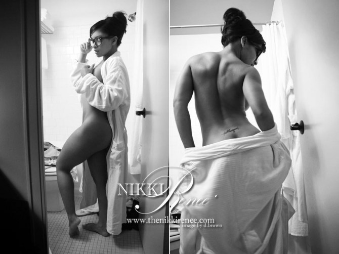Nikki Renee @MsNikki_Renee – Previews from theNikkiRenee.com – D. Brown