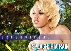 Frank D Photo presents: SPLASH – Ria Rain @makeriarain