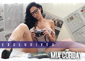 "Mia Corday @MiaCorday – Previews from OTB Photography Upcoming Book ""SmokeNSex"""