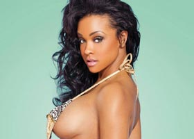 Masika Kalysha in Blackmen Magazine