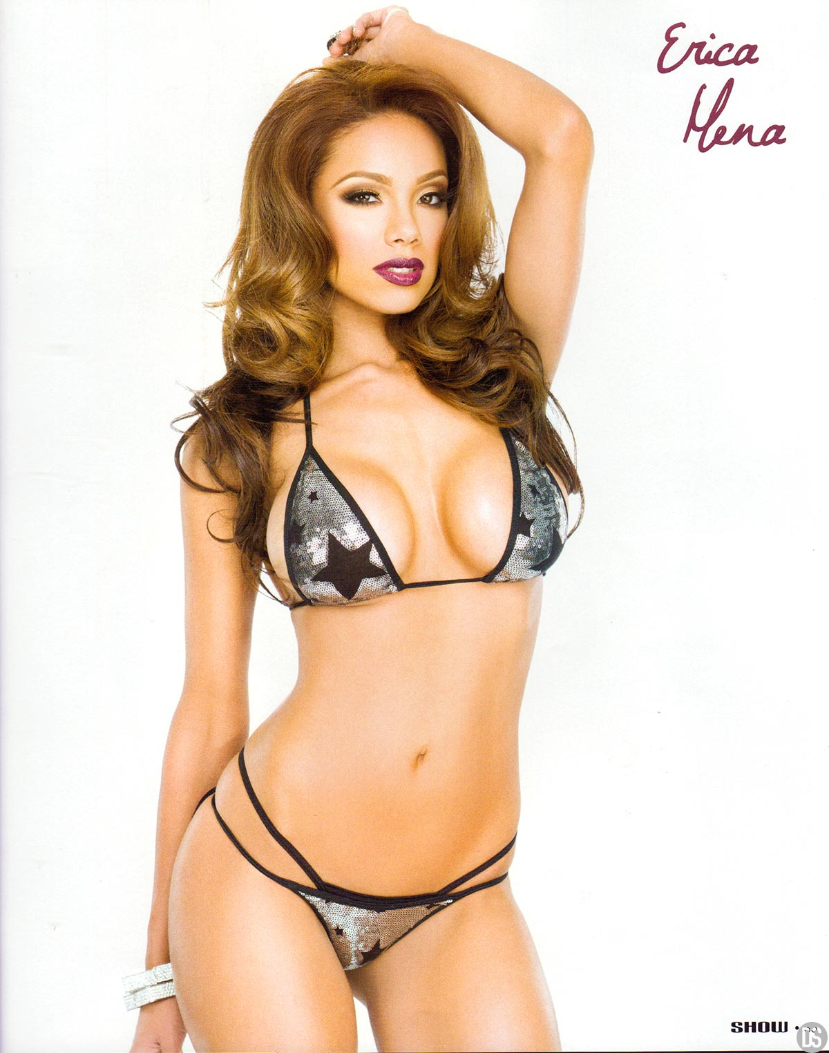 DYNASTY BLACK LINGERIE By SHOW Magazine Issue 5 Cover 3 of 4