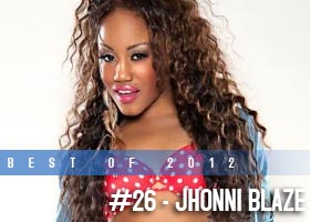 Best of 2012: #26 – Jhonni Blaze @JhonniBlaze: Got Your Attention – DW Images