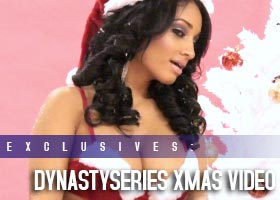 DynastySeries Christmas: Behind the Scenes Video – Ayisha Diaz, Jennifer Skye and Janz J