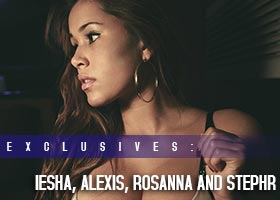 Previews of Iesha Marie, Stepher Flowers, Alexis Lugo and Rosanna Castillo – Jahrue