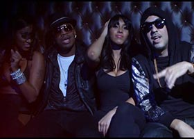 "Jeny Romero, Bernice Burgos and Sasha Devalle in Neyo's ""Let Me Love You"" Remix"