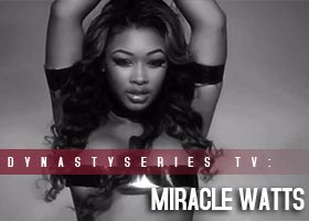 Miracle Watts @MiracleWatts00 – Behind the Scenes – Bondage Photoshoot with Facet Studio