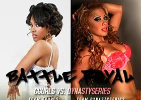 DynastySeries Vs. GGurls Battle Royal: Princess Roxy @IamPrincessRoxy Vs Leticia Marie @OfficiallyLM – Vote Today
