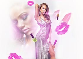 Erica Mena @Erica_Mena Ladies Night PrittyNPink Lip Stick Launch – Feb 12th in NYC