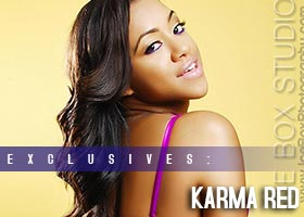 Karma Red @Ms_KarmaRed: Over Her Shoulder – Ice Box Studio