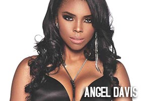 Angel Davis @Iloveangel2 in Blackmen Magazine
