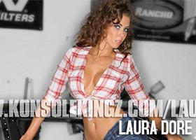 Laura Dore @LauraDore – Konsole Kingz PS3 Theme Previews