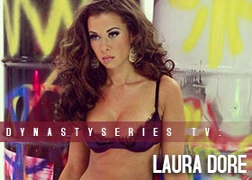Laura Dore @LauraDore – Behind the Scenes with Jose Guerra