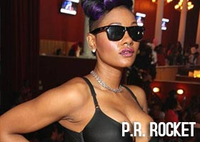 P.R. Rocket @PRRocket321 – Birthday Party Pics at The Mansion