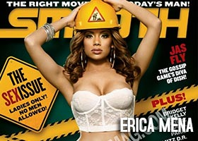 Erica Mena erica_mena &#8211; Smooth Magazine Cover Shoot Behind the Scenes
