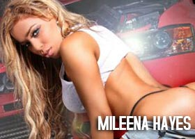 Mileena Hayes @MileenaHaze on cover of Dip Stick Magazine – Caliber Photos
