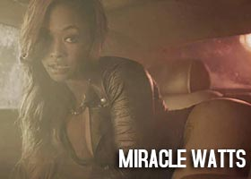 "Miracle Watts @miraclewatts00 in The Dream's ""IV Play"""
