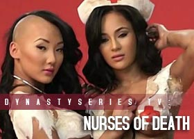 Nurses of Death: Behind the Scenes with Brittany Dailey @BrittanyDailey and Gracie @Graciii3 &#8211; Blackmen Magazine