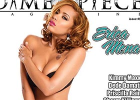 Erica Mena @iAmEricaMena on cover of Dimepiece Magazine