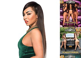 Sidney Lauren @SidneyLauren in DynastySeries Issue of Straight Stuntin