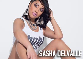 Sasha Delvalle @SashaDelvalle – Behind the Scenes and Interview – HotNewHipHop