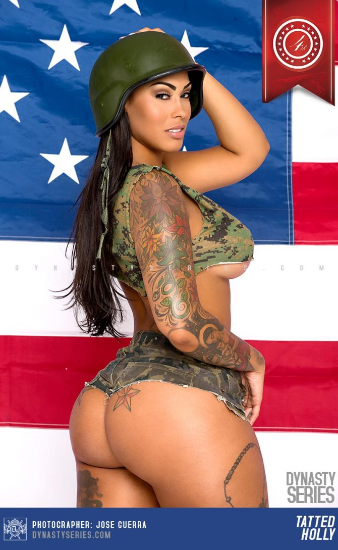 Tatted Up Holly @tatteduphollyyy: Independence Day – Jose Guerra