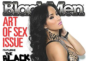 Brittany Dailey @brittanydailey on the cover of Blackmen Magazine – Facet Studio – Black Tape Project