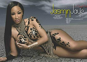 Jasmin Jaye @Jasmin_Jaye in Blackmen Magazine – Facet Studio