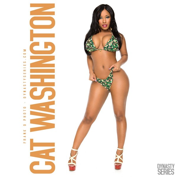 Cat Washington @mscat215 in DynastySeries Edition of Straight Stuntin - Jose Guerra