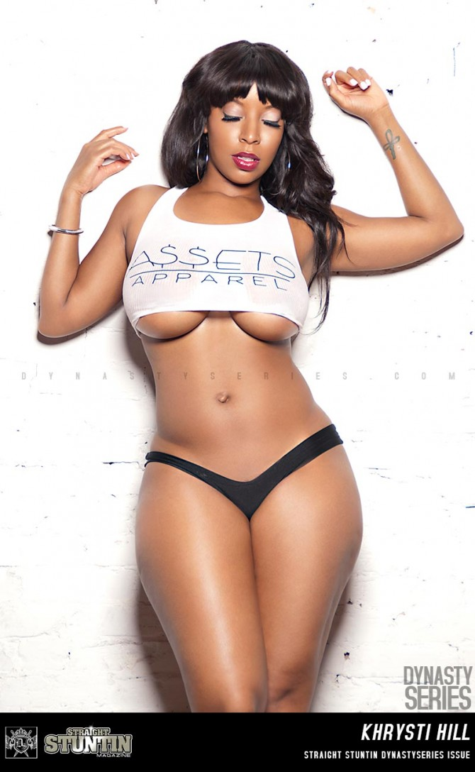 Khrysti HIll @khrystihill in DynastySeries Edition of Straight Stuntin – Visual Cocktail