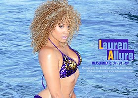 Lauren Allure @LauREN_Allure in latest issue of Skin Tight Magazine – TL Glam Studio