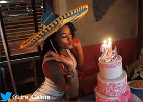 Lira Galore @Lira_Galore celebrates her 20th Birthday