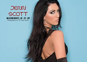 Jenn Scott @TheJennScott in SkinTight Magazine Issue #3 – TL Glam Studio