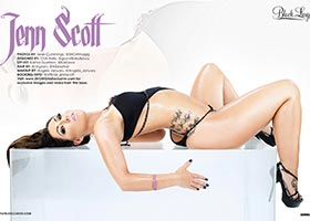 Jenn Scott @officially_JennScott in Black Lingerie #20